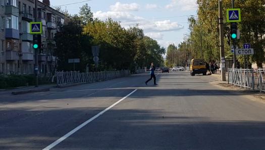 В Брянске из-за обилия светофоров улица Ново-Советская стала опасной