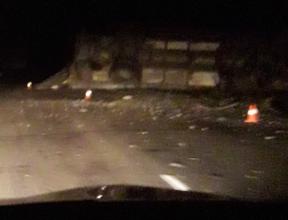 На брянской трассе произошло серьёзное ДТП