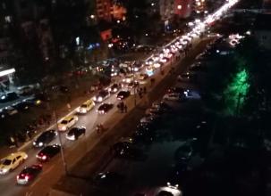 Брянск встал в огромной пробке после праздника в честь Дня города