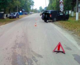 В брянском посёлке Локоть легковушка сбила велосипедистку