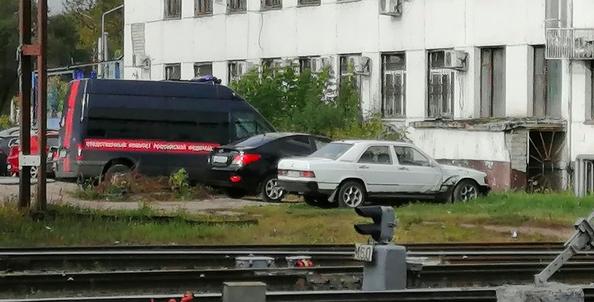В Брянске появились кадры с места убийства сотрудников Спецсвязи