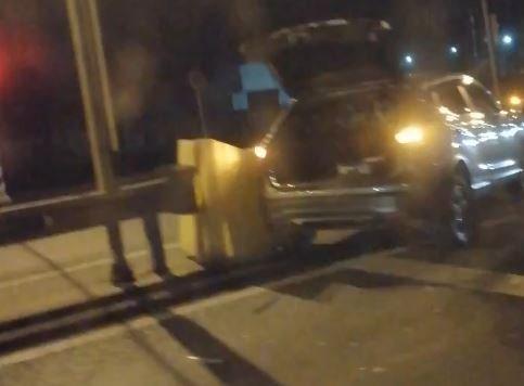 ДТП под Брянском: два автомобиля влетели в отбойник