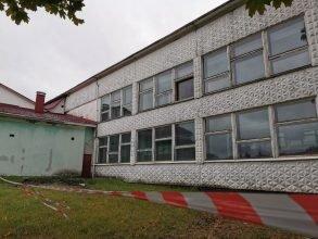 В Брянске на затопленном  «Локомотиве» отремонтируют крышу