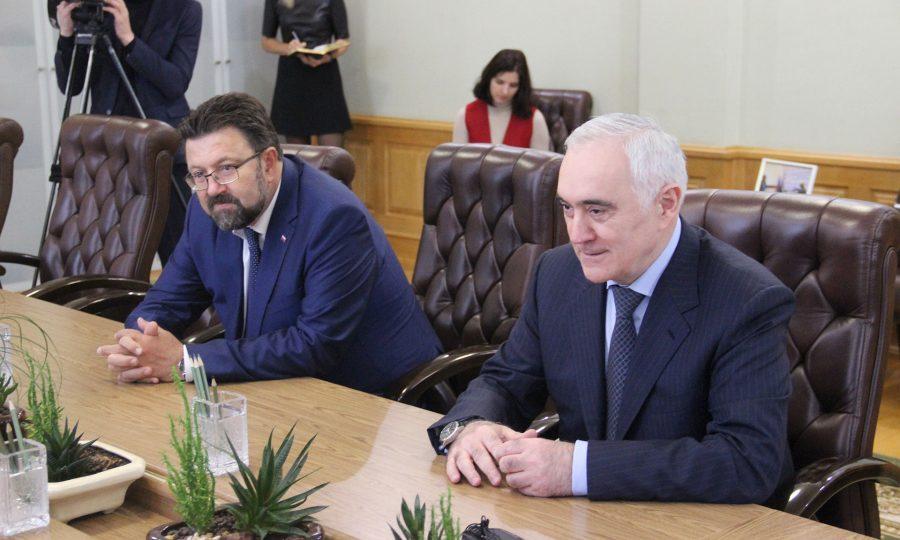 На Брянщину прибыл заместитель полпреда Президента вЦФО Мурат Зязиков