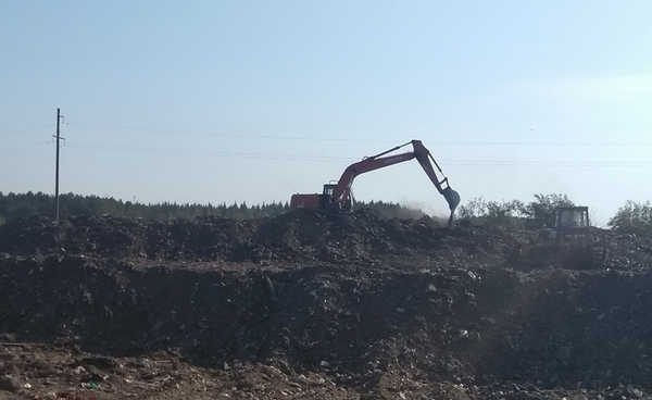 В Жуковке избавятся от старой городской свалки