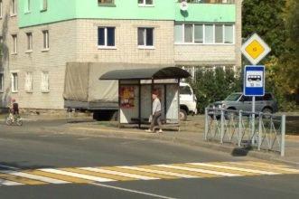 В Брянске забыли об урнах на остановках по дороге к Свенскому монастырю
