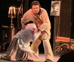 Брянский артист выступил на сцене столичного МХАТ