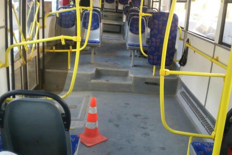 В Брянске в автобусе №25 разбилась 63-летняя пассажирка