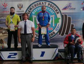 Брянец Дмитрий Апанасевич победил на Кубке России по пауэрлифтингу