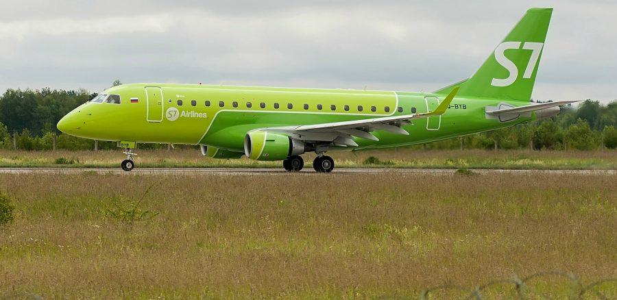 Авиакомпании «S7» попросила 70 тысяч рублей за полет в Брянск