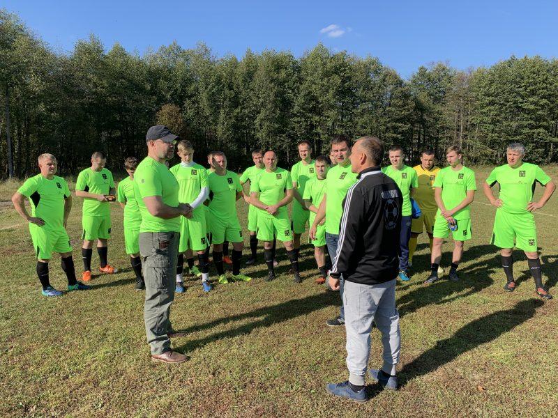 Брянский агрохолдинг приобрел футбольную форму для подшефной команды