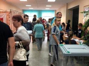К полудню явка на брянских выборах составила 18%