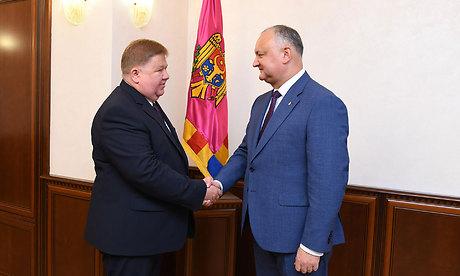 Заместитель губернатора Брянщины встретился с президентом Молдавии