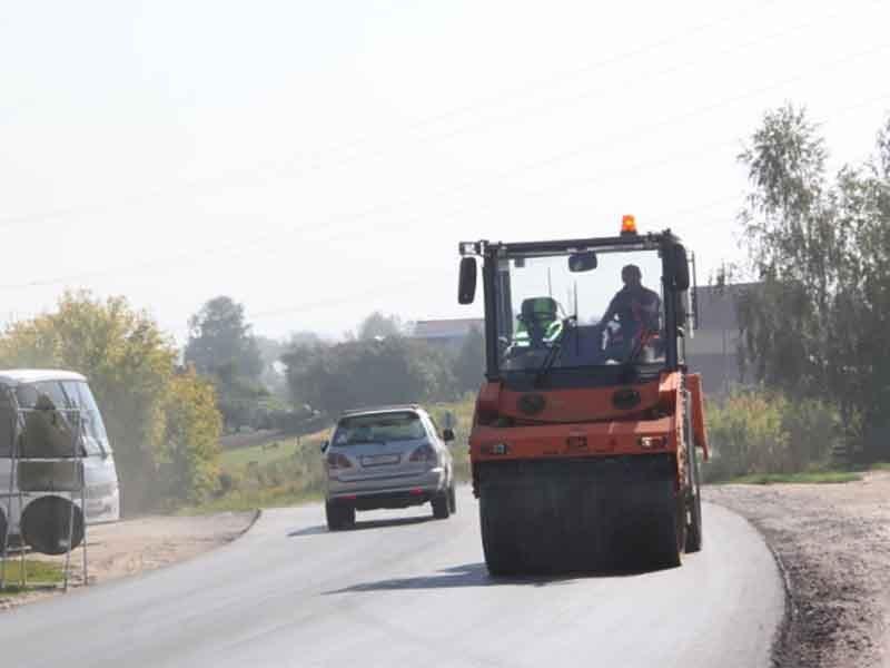 Под Брянском завершается ремонт дороги  «Бордовичи-Отрадное»