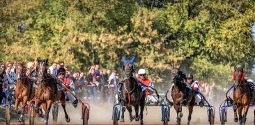 Финские спортсмены приняли участие в бегах на брянском ипподроме