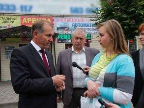 В Брянске жительница улицы Медведева попросила спасти ее от затоплений