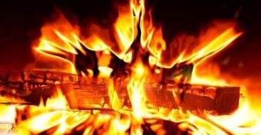 Почепский уголовник ради развлечения поджег соседский дом