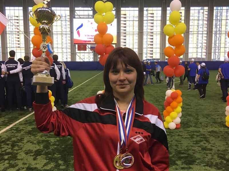Брянская шахматистка завоевала «золото»  Всероссийской спартакиады трудящихся