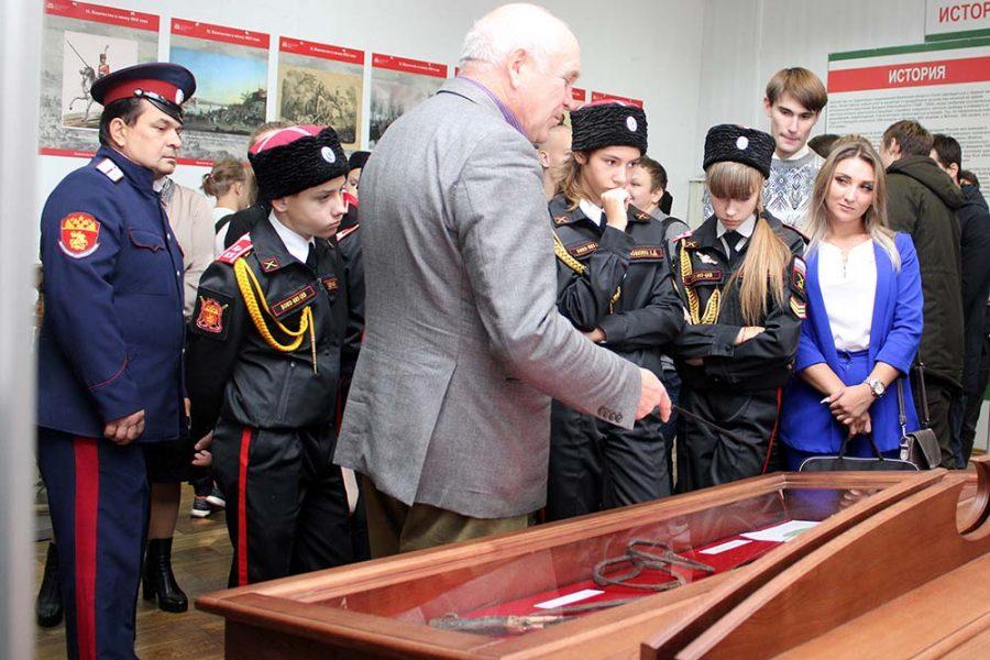 В Брянск привезли передвижную выставку «Казачество на государевой службе»