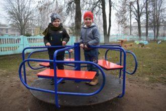В детском саду Жирятино установили новое оборудование