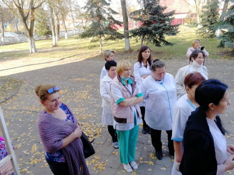 В Клинцах из-за пожара эвакуировали городскую больницу