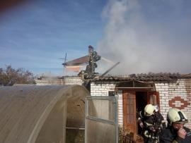 В Брянске крупный пожар на улице Осипенко обошелся без жертв
