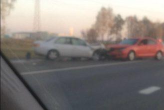 В утреннем ДТП под Брянском пострадал 46-летний мужчина