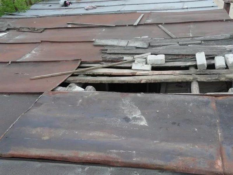 В  Дятьковском районе через крышу гаража похитили мотоцикл