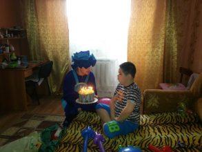 Праздник особенному мальчику Володе подарили в Брянске
