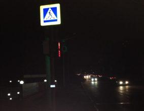 В Брянске пешеходы вечером боятся ходить по улице