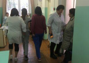 В Унече эвакуировали инфекционное отделение местной больницы