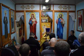 В брянской колонии прошла Божественная литургия