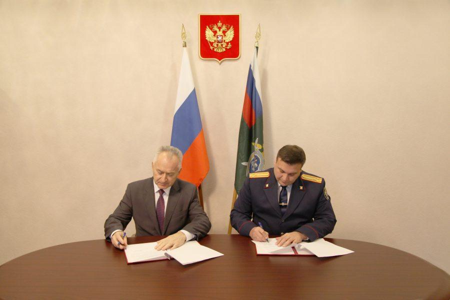 В Брянской области руководитель Следкома и омбудсмен договорились о сотрудничестве