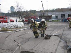 В Брасово из-за пожара эвакуировали колонию