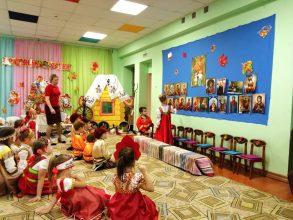 В брянском детсаду воспитанников научили чтить церковные праздники