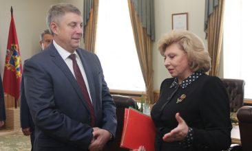 Омбудсмен Москалькова назвала прорывом проект по обеспечению жильем брянских врачей