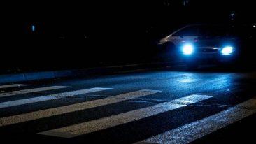 В Брянске зебры возле школ не прошли проверку на освещенность