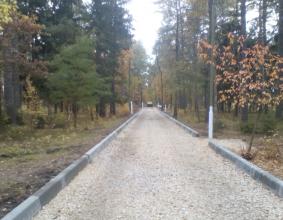 В Унече началось благоустройство парка Уральских добровольцев
