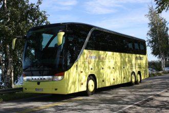 Через Брянск проходит автобус Пятигорск-Париж
