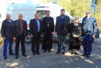 В брянском селе медикам купили новую машину за 2 миллиона рублей
