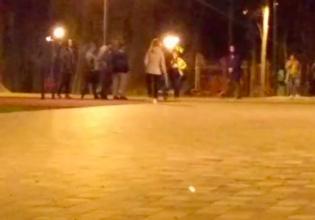 В Брянске пьяные парни устроили драку в Майском парке