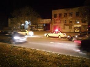 В Брянске на Литейной столкнулись 2 иномарки