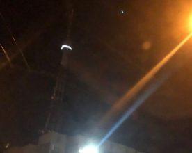 На вышке телецентра в Брянске появились огни