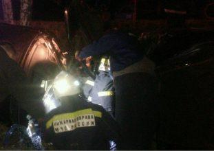 На трассе под Стародубом автомобиль попал в серьезное ДТП