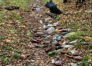 В Брянске сфотографировали экологическую катастрофу