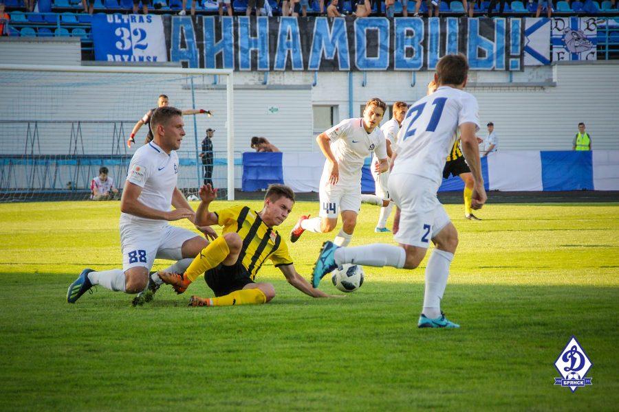Брянское «Динамо» примет на своем поле «Зоркий» из Красногорска