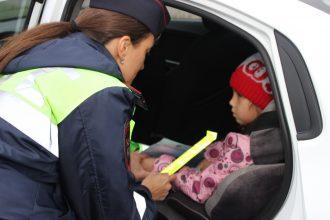 Во всех районах Брянска гаишники проверят правила перевозки детей