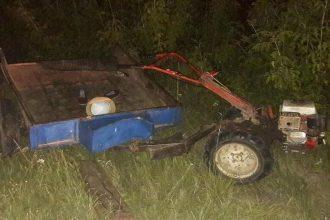 В Мглине водитель Lada врезался в ехавший впереди мотоблок