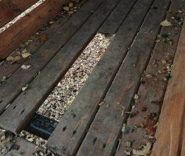 В Брянске недавно отремонтированный Майский парк подвергся набегу вандалов