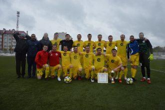 Суражский «Пролетарий» в 13-й раз стал чемпионом области по футболу